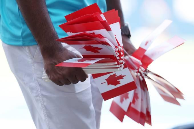 bandeiras do Canadá