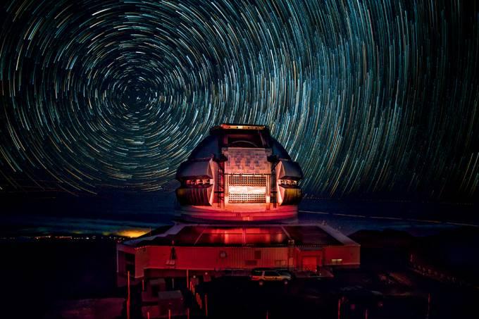 Stary Night Over Maunakea