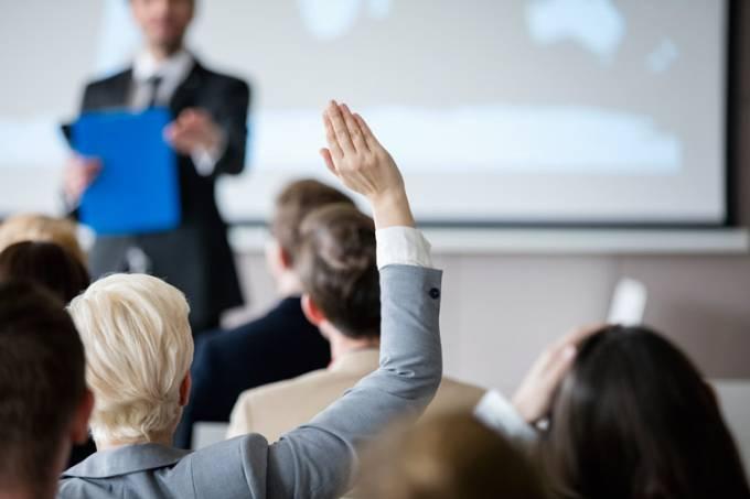 delegar sala de aula