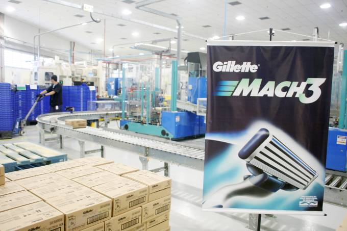 Fabrica da Gillette Mach3 em Manaus