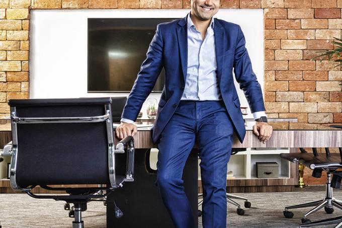 Raphael Ruiz, fundador e CEO da escola de idiomas Instituto Mindset