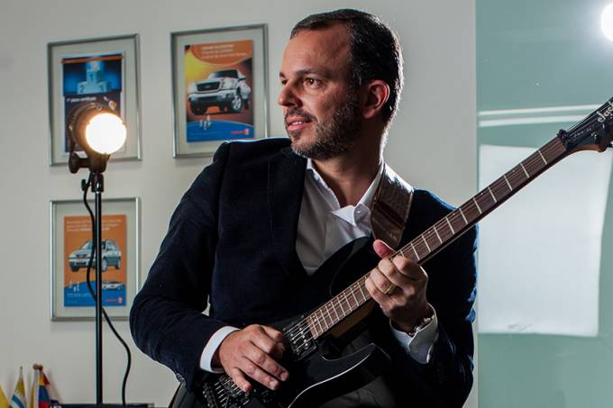 Ricardo Leptich, CEO da OSRAM. FOTO ANDRE LESSA.