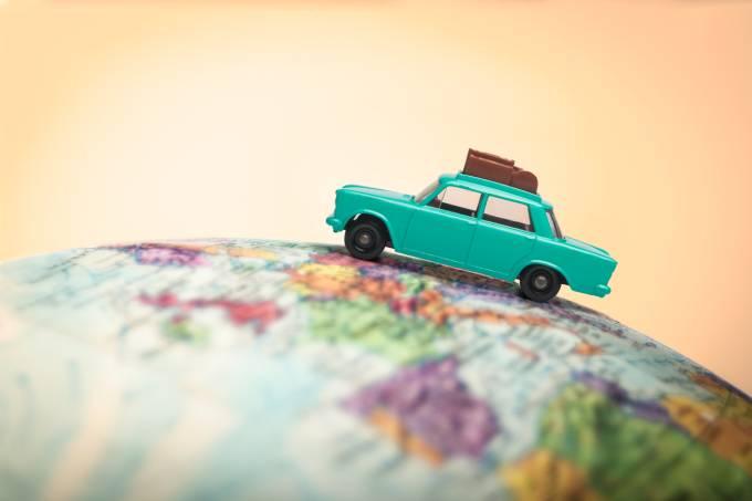 Viagem no exterior; destinos internacionais