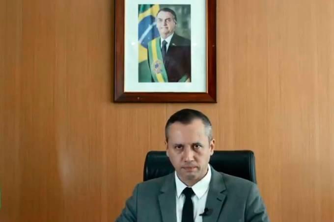 Roberto Alvim, secretário de Cultura