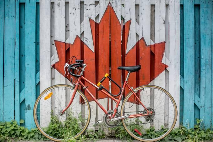 bicicleta Canadá