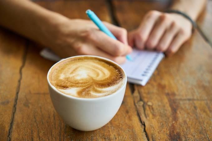 café escrita