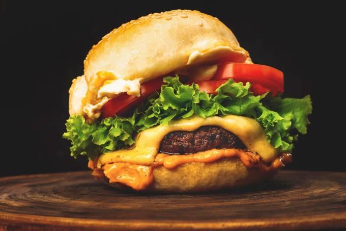 hamburguer fast food