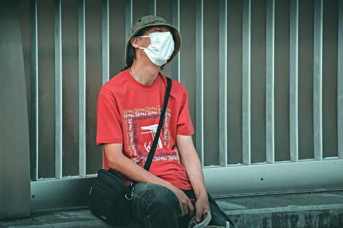 máscara homem