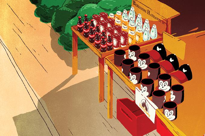 Empresas como a Disney e a Berkshire (dona de nacos da Coca-Cola, da Heinz e da Johnson & Johnson) servem de chamariz para os BDRs.