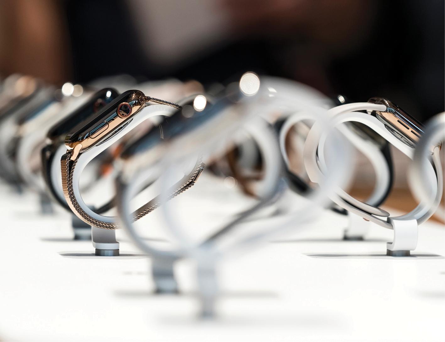 Apple Watch Série 6: acessórios respondem por pouco mais de 10% do faturamento da empresa. O iPhone, por 60%.