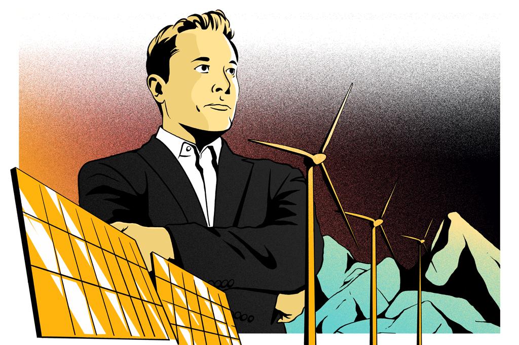 Elon Musk: sua Tesla, queridinha entre as BDRs, não faz apenas carros elétricos. Também é uma empresa fundamental na expansão da energia solar nos EUA.