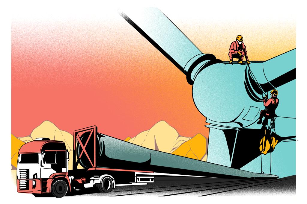Algumas companhias de capital aberto se destacam por serem grandes fornecedoras de equipamentos para parques eólicos e solares. É o caso da WEG e da Aeris.